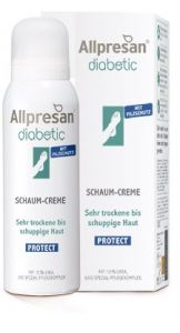 Allpresan DIABETIC INTENSIV PLUS mikrosrebro 125 ml